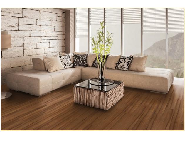 Teak Wood Flooring with Mikasa Flooring