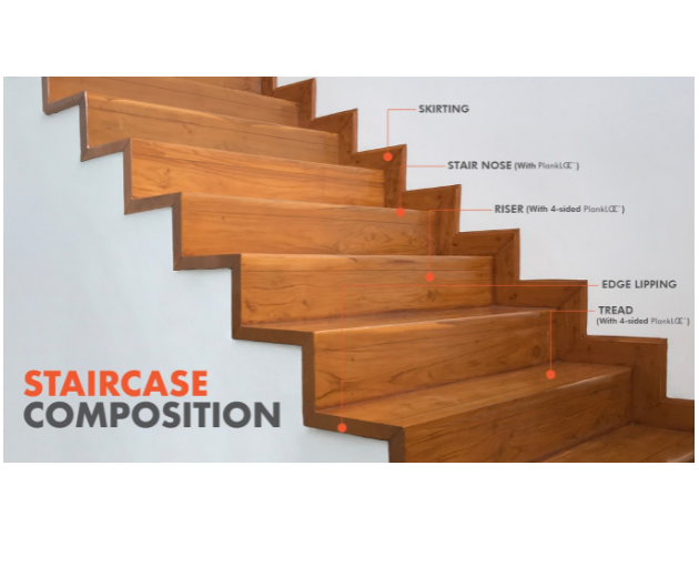 Engineered Wood Staircase Solution by Mikasa